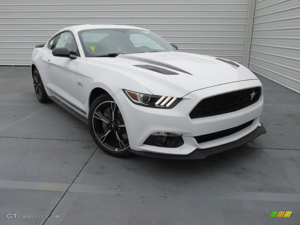 2016 Oxford White Ford Mustang GT CS California Special Coupe