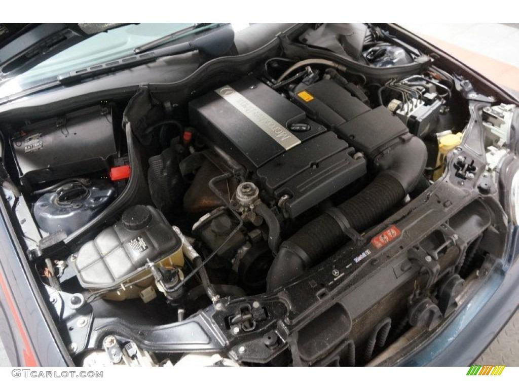 2005 mercedes benz c 230 kompressor sedan 1 8l for Mercedes benz kompressor engine