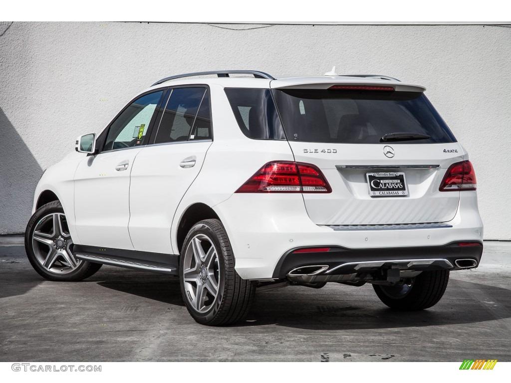 2016 polar white mercedes benz gle 400 4matic 108402511 for Mercedes benz polar white paint