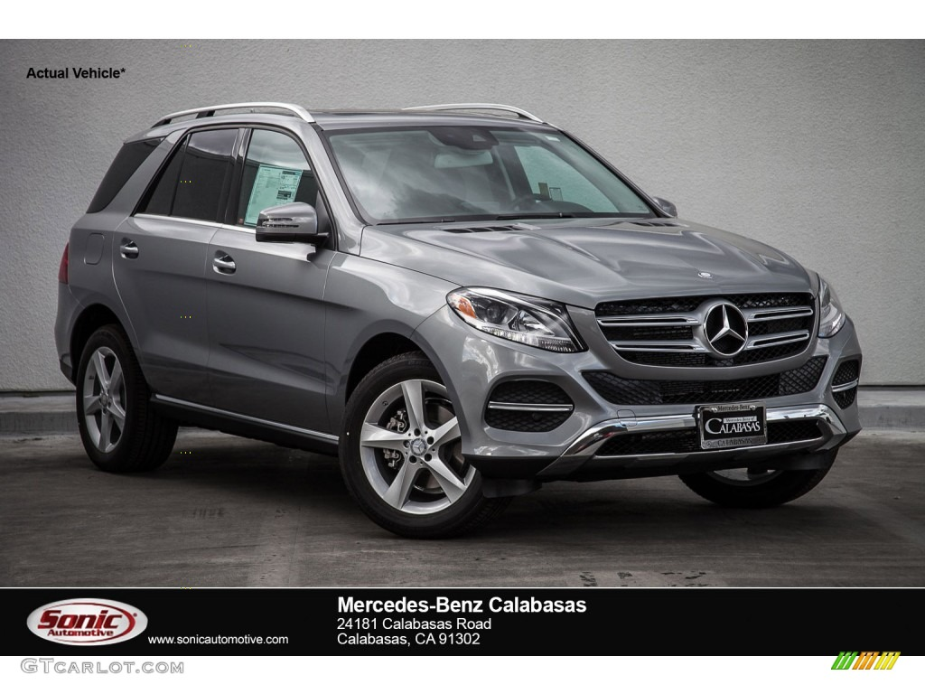 2016 palladium silver metallic mercedes benz gle 350 for Mercedes benz paint colors