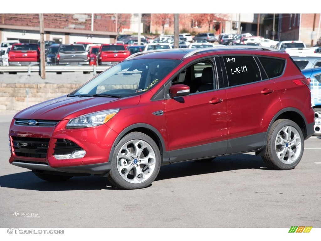 Ruby Red Metallic Ford Escape Anium 4wd