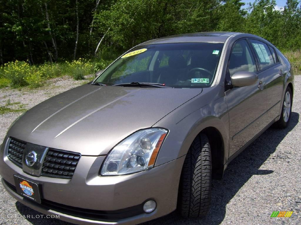 2005 coral sand metallic nissan maxima 3 5 sl 10829973. Black Bedroom Furniture Sets. Home Design Ideas