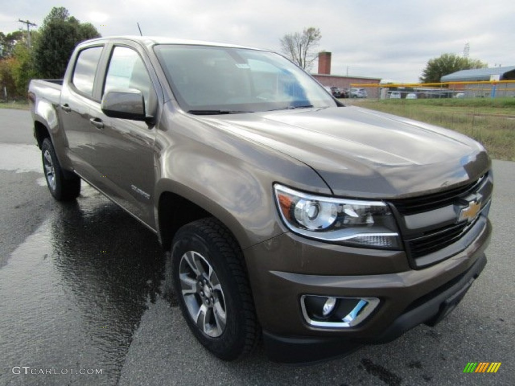 2016 brownstone metallic chevrolet colorado z71 crew cab. Black Bedroom Furniture Sets. Home Design Ideas