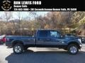 2016 Blue Jeans Metallic Ford F250 Super Duty XLT Crew Cab 4x4 #108472192