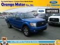 Blue Flame 2014 Ford F150 STX SuperCab 4x4