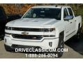 2016 Summit White Chevrolet Silverado 1500 LT Z71 Crew Cab 4x4  photo #1