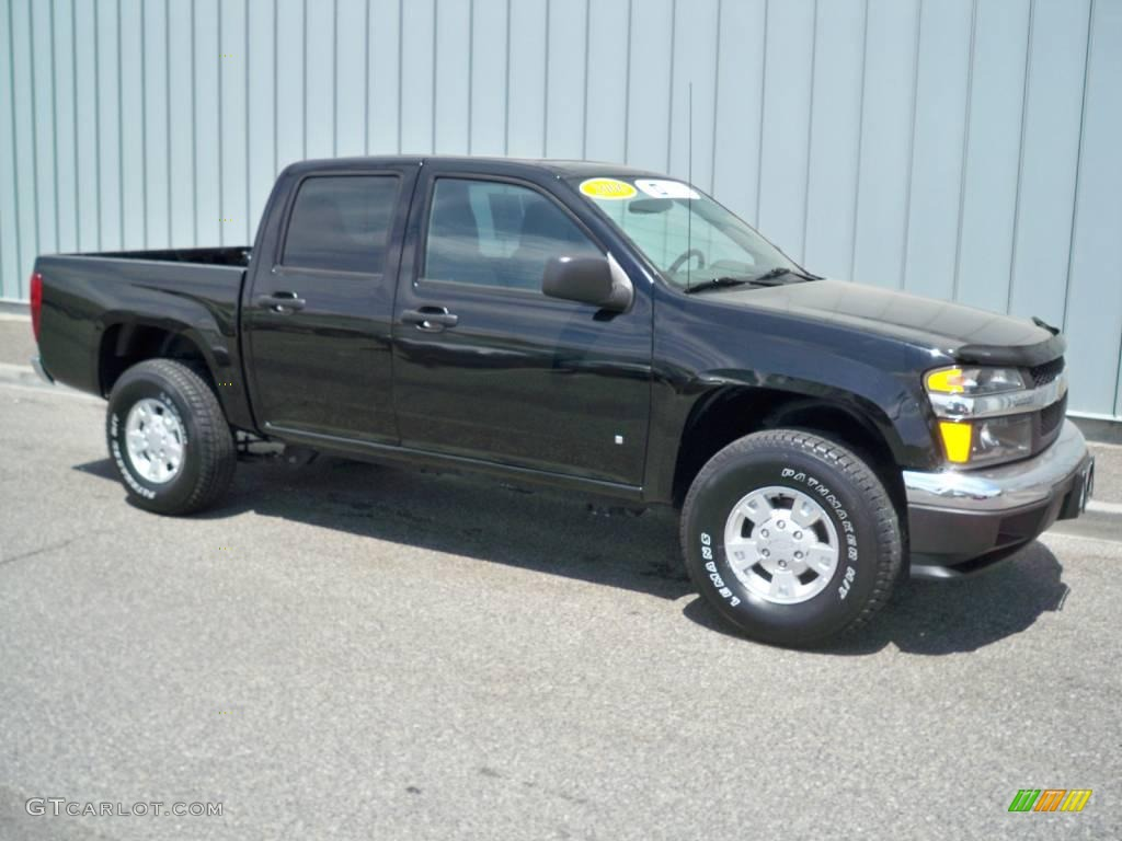 2006 black chevrolet colorado lt crew cab 10832192 car color galleries. Black Bedroom Furniture Sets. Home Design Ideas