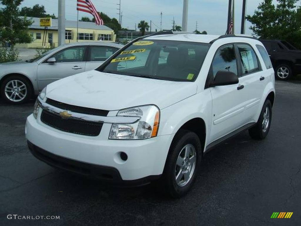 2007 summit white chevrolet equinox ls 10830978. Black Bedroom Furniture Sets. Home Design Ideas