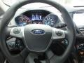 Charcoal Black Steering Wheel Photo for 2016 Ford Escape #108523211