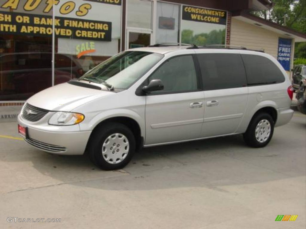 2004 bright silver metallic chrysler town country lx 10838922 car color. Black Bedroom Furniture Sets. Home Design Ideas