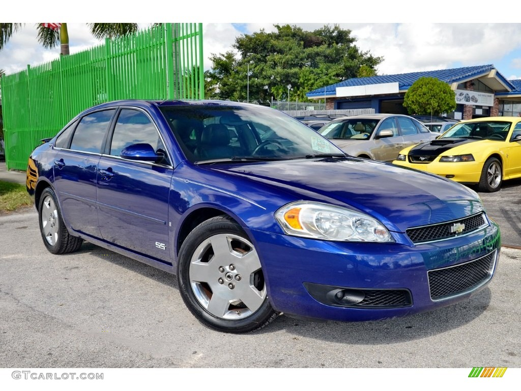 2006 laser blue metallic chevrolet impala ss 108505930. Black Bedroom Furniture Sets. Home Design Ideas