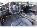 2016 RS 7 4.0 TFSI quattro Black Valcona w/Honeycomb Stitching Interior