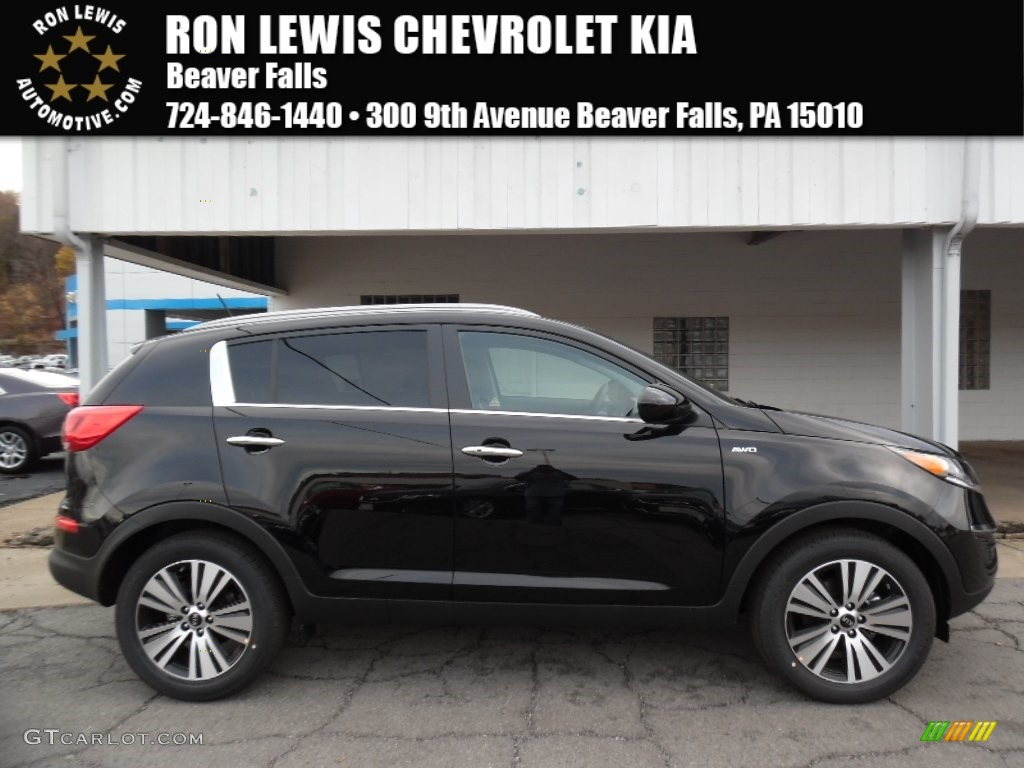 Black Cherry Kia Sportage