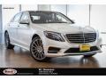 designo Diamond White Metallic 2016 Mercedes-Benz S 550 Sedan