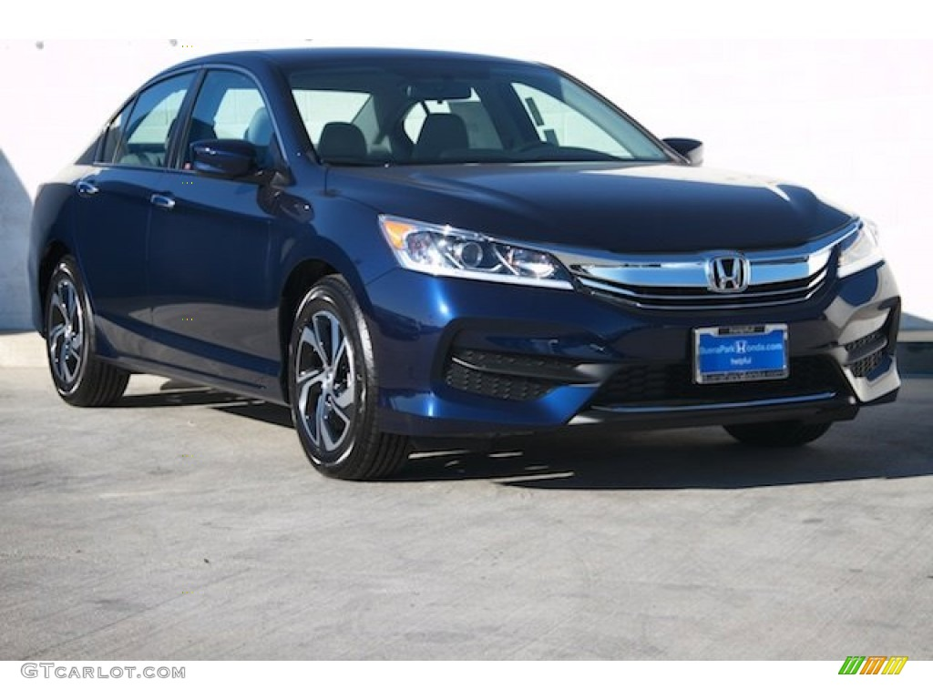 2016 obsidian blue pearl honda accord lx sedan 108550694 car color galleries. Black Bedroom Furniture Sets. Home Design Ideas