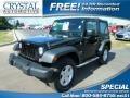 Black 2015 Jeep Wrangler Sport 4x4