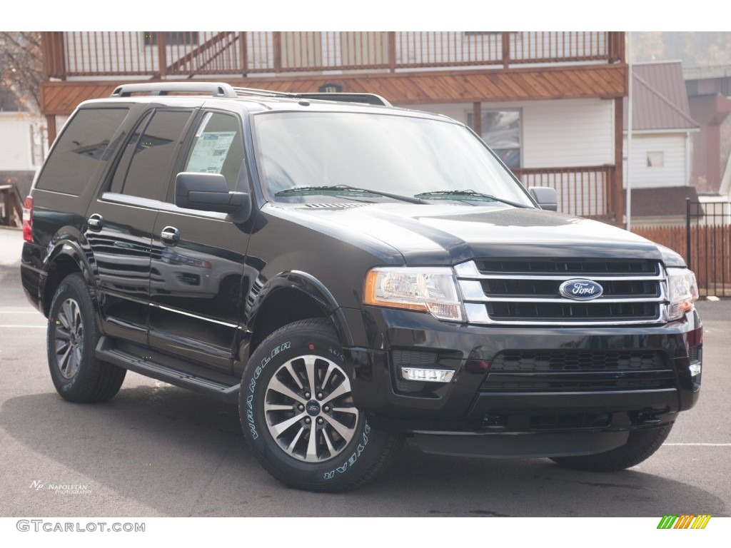 2016 shadow black metallic ford expedition xlt 4x4 108555993 car color galleries. Black Bedroom Furniture Sets. Home Design Ideas
