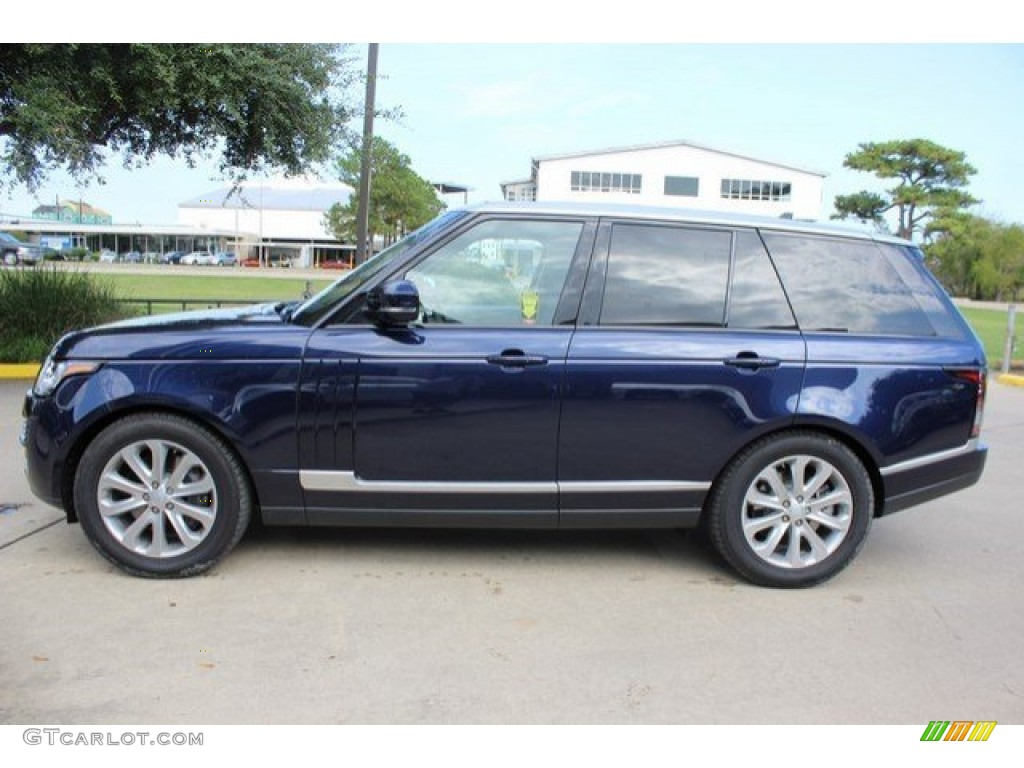 2016 loire blue metallic land rover range rover hse. Black Bedroom Furniture Sets. Home Design Ideas