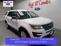 2016 Oxford White Ford Explorer FWD  photo #1