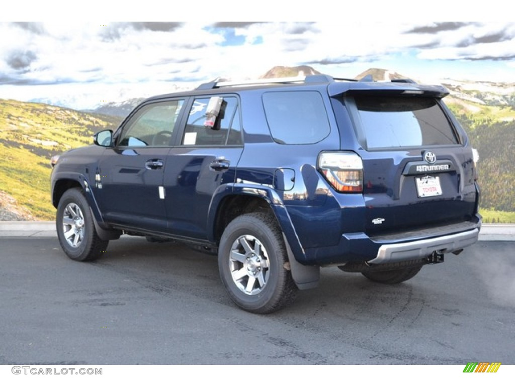 2016 4runner Trail Premium 4x4 Nautical Blue Metallic Black Photo 3