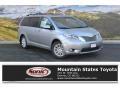 Silver Sky Metallic 2015 Toyota Sienna Limited AWD