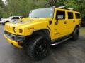 Yellow 2007 Hummer H2 Gallery