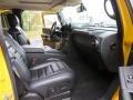 2007 Yellow Hummer H2 SUV  photo #18