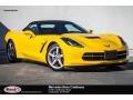 Velocity Yellow Tintcoat 2014 Chevrolet Corvette Stingray Convertible
