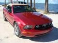 2006 Redfire Metallic Ford Mustang V6 Premium Convertible  photo #22