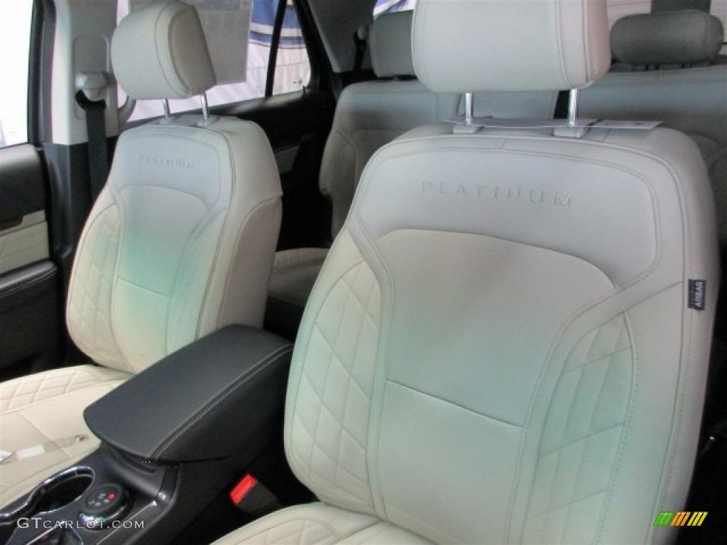 Platinum Medium Soft Ceramic Nirvana Leather Interior 2016