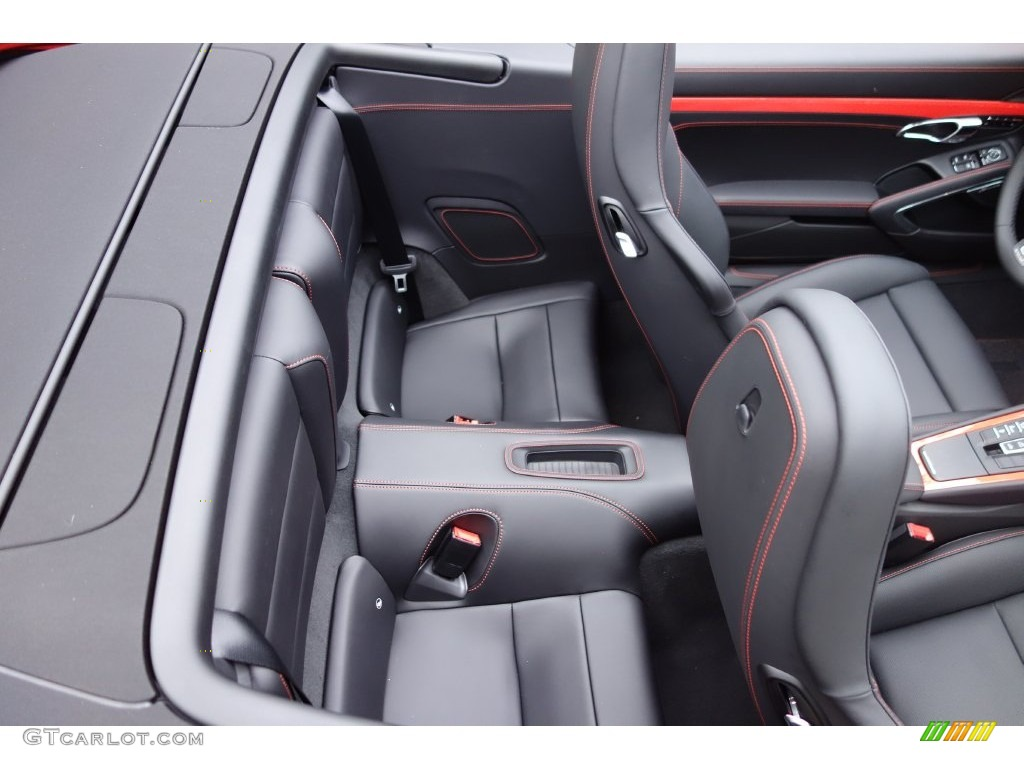 2016 Porsche 911 Turbo S Cabriolet Rear Seat Photo
