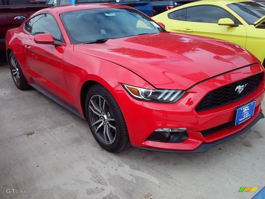 Race Red Ford Mustang