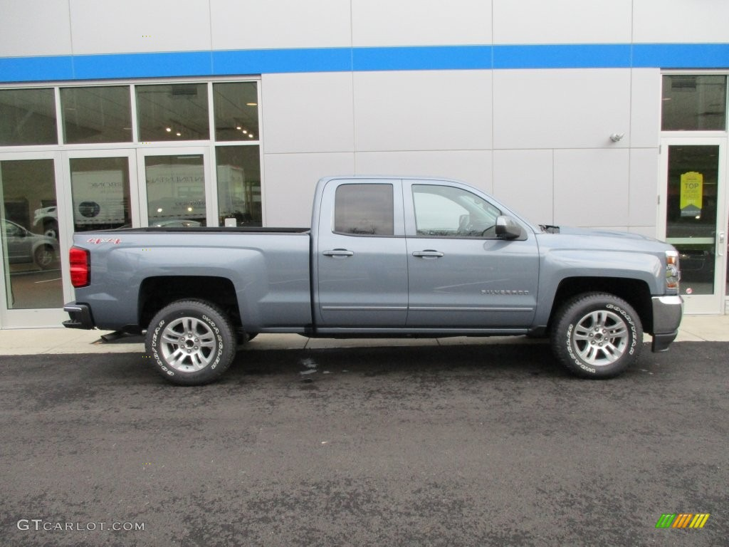 Slate Grey Metallic 2016 Chevrolet Silverado 1500 LT Double Cab 4x4 Exterior Photo #108627509