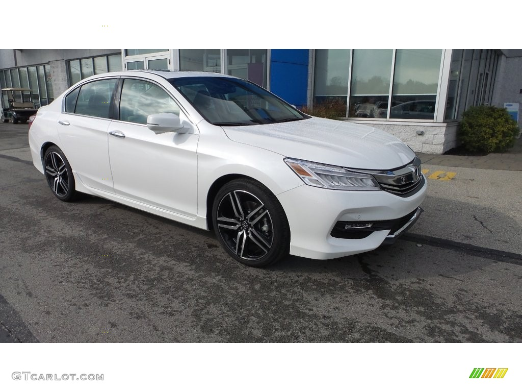White Orchid Pearl 2016 Honda Accord Touring Sedan