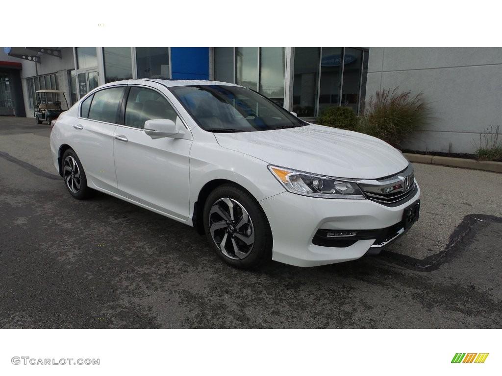 2016 white orchid pearl honda accord ex l v6 sedan for Honda accord ex l v6