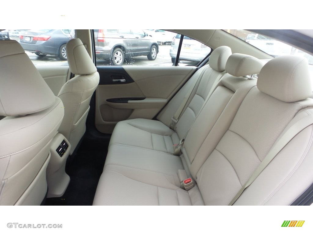 Exceptional Ivory Interior 2016 Honda Accord EX L V6 Sedan Photo #108634598