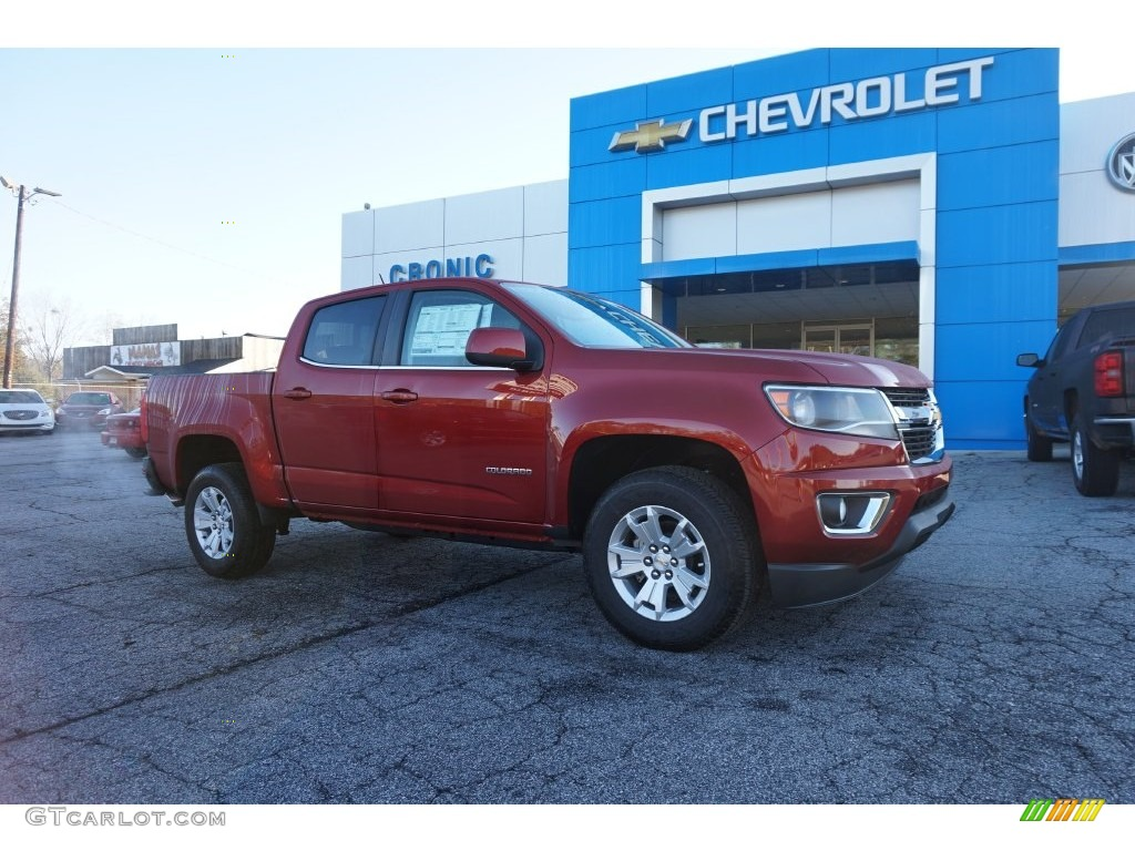 2016 red rock metallic chevrolet colorado lt extended cab. Black Bedroom Furniture Sets. Home Design Ideas