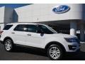 2016 Oxford White Ford Explorer FWD  photo #1