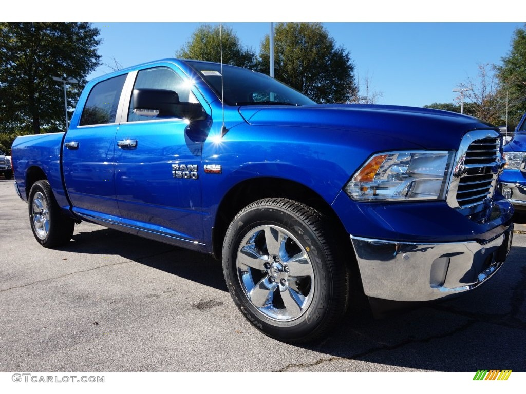 blue streak pearl 2016 ram 1500 big horn crew cab exterior photo 108640853. Black Bedroom Furniture Sets. Home Design Ideas