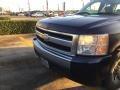 2007 Dark Blue Metallic Chevrolet Silverado 1500 Work Truck Extended Cab #108610238
