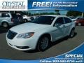 Bright White 2012 Chrysler 200 Touring Sedan