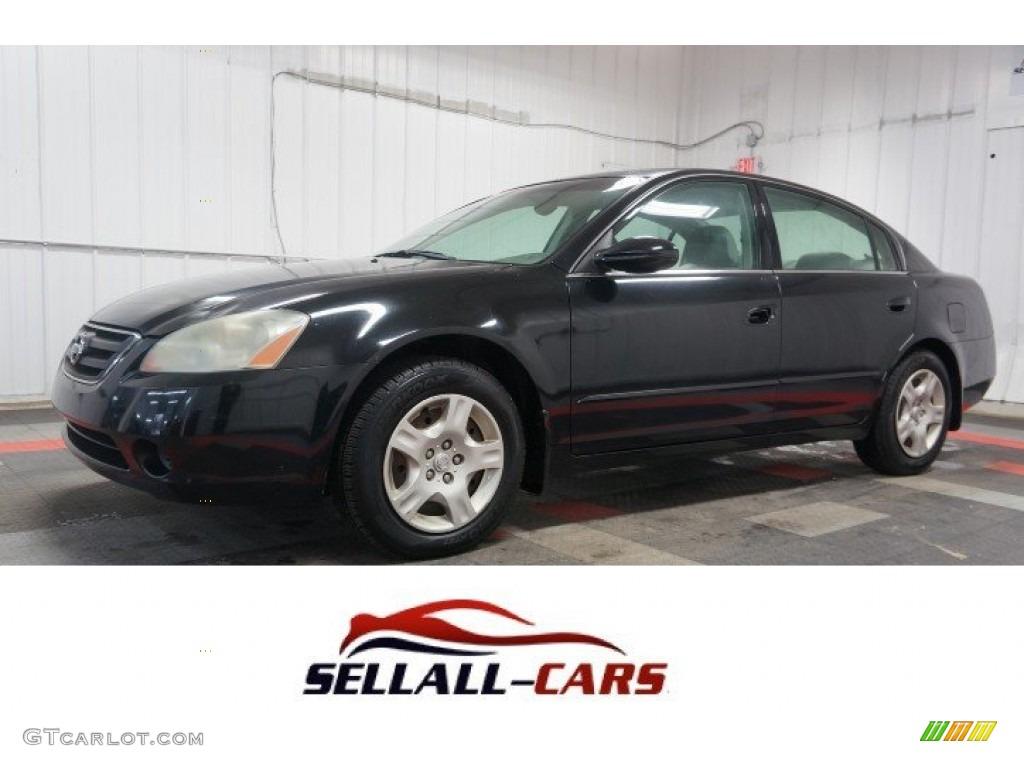 2004 Super Black Nissan Altima 2.5 S #108643486 Photo #27 ...