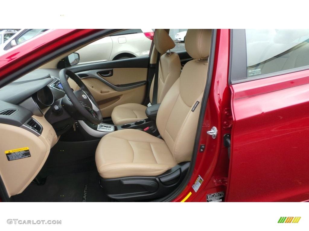 2012 red allure hyundai elantra limited 108643902 photo 8 car color galleries for Hyundai elantra interior colors