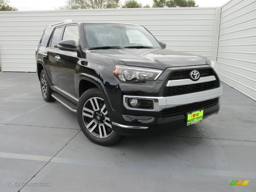 2016 midnight black metallic toyota 4runner limited 108643738 car color galleries. Black Bedroom Furniture Sets. Home Design Ideas