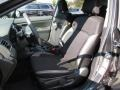 2016 Subaru Crosstrek Black Interior Front Seat Photo