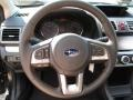 2016 Subaru Crosstrek Black Interior Steering Wheel Photo