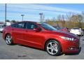Ruby Red 2014 Ford Fusion SE