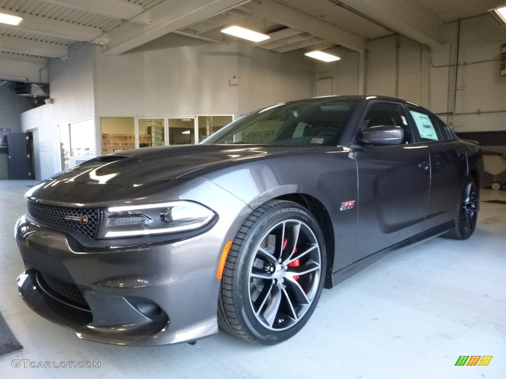 Granite Crystal Metallic Dodge Charger