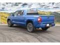 2016 Blazing Blue Pearl Toyota Tundra Limited CrewMax 4x4  photo #3