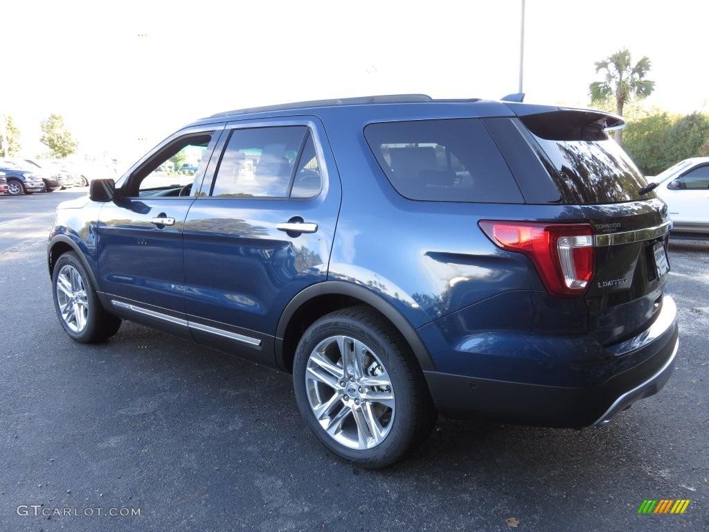 2016 Blue Jeans Metallic Ford Explorer Limited #108728685 Photo #9 | GTCarLot.com - Car Color ...